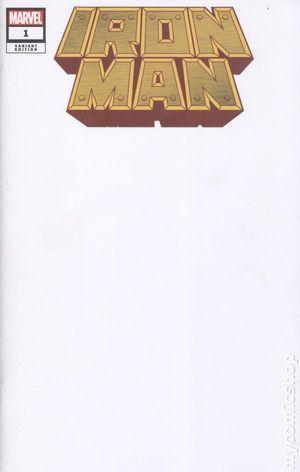 IRON MAN (2020) #1 BLANK