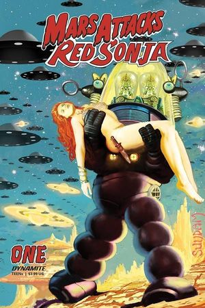 MARS ATTACKS RED SONJA (2020) #2B