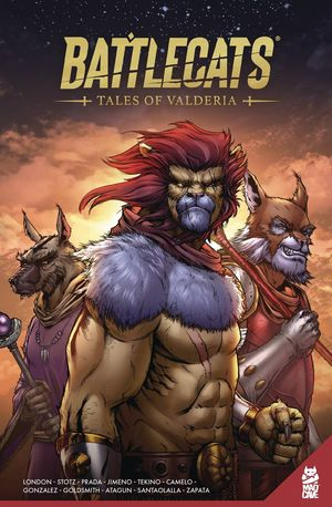 BATTLECATS TALES OF VALDERIA TP VOL 01 1