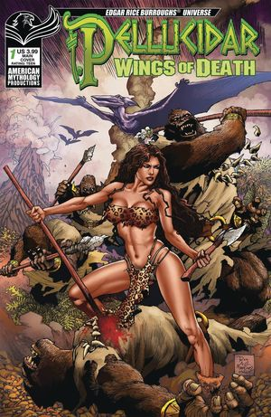 PELLUCIDAR WINGS OF DEATH CVR A MARTINEZ 1