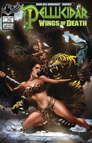 PELLUCIDAR WINGS OF DEATH CVR A MARTINEZ 2
