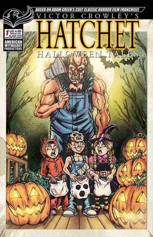 VICTOR CROWLEY HATCHET HALLOWEEN TALES CALZADA AM CVR 1