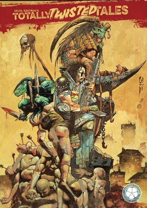 KEVIN EASTMAN TOTALLY TWISTED TALES TP VOL 01 CVR B BISLEY 1