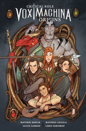CRITICAL ROLE TP VOL 01 VOX MACHINA ORIGINS 1