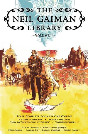 NEIL GAIMAN LIBRARY EDITION HC VOL 01 1