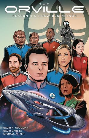 ORVILLE SEASON 1.5 TP VOL 01 NEW BEGINNINGS 1
