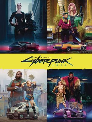WORLD OF CYBERPUNK 2077 HC DELUXE ED
