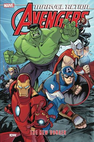 MARVEL ACTION AVENGERS TP BOOK 01 NEW DANGER 1