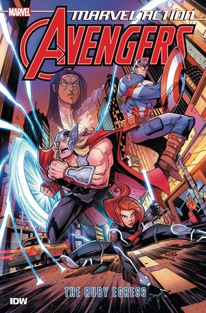 MARVEL ACTION AVENGERS TP BOOK 02 RUBY EGRESS 2