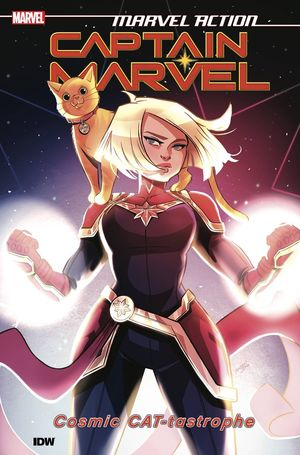 MARVEL ACTION CAPTAIN MARVEL TP VOL 01 CAT-TASTROPHE 1