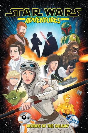 STAR WARS ADVENTURES TP VOL 01 1