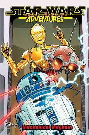 STAR WARS ADVENTURES TP VOL 05 MECHANICAL MAYHEM 5