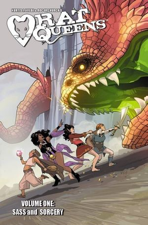 RAT QUEENS TP VOL 01 SASS AND SORCERY 1
