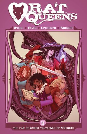 RAT QUEENS TP VOL 02 FAR REACHING TENTACLES OF NRYGOTH 2