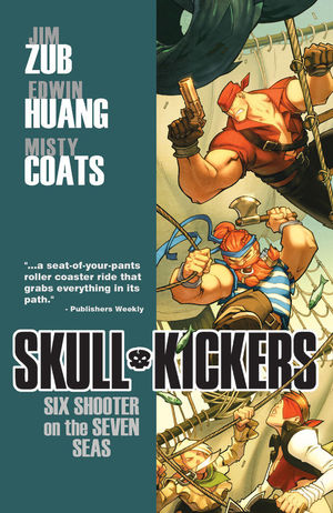 SKULLKICKERS TP VOL 03 SIX SHOOTER ON THE SEVEN SEAS 3