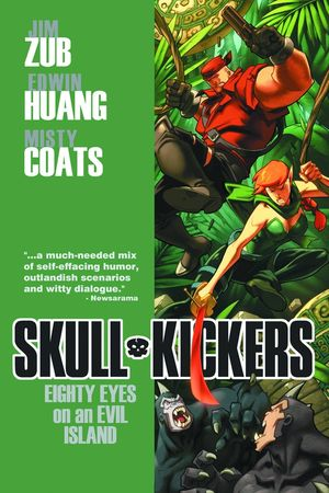 SKULLKICKERS TP VOL 04 EIGHTY EYES ON AN EVIL ISLAND 4