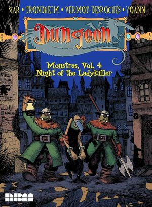 DUNGEON MONSTRES GN VOL 04 NIGHT OF THE LADYKILLER 4