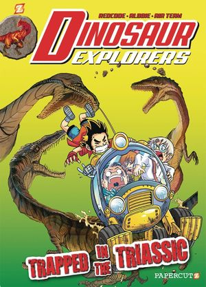 DINOSAUR EXPLORERS GN VOL 04 TRAPPED IN THE TRIASSIC 4