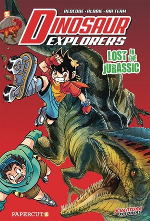 DINOSAUR EXPLORERS GN VOL 05 LOST IN JURASSIC 5