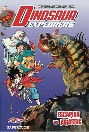 DINOSAUR EXPLORERS HC VOL 06 ESCAPING THE JURASSIC 6