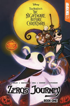 DISNEY MANGA NIGHTMARE CHRISTMAS ZEROS JOURNEY TP VOL 01 1