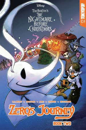DISNEY MANGA NIGHTMARE CHRISTMAS ZEROS JOURNEY TP VOL 02 2