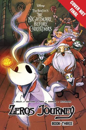DISNEY MANGA NIGHTMARE CHRISTMAS ZEROS JOURNEY TP VOL 03 3
