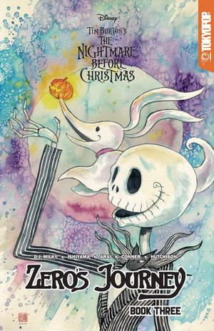 DISNEY MANGA NIGHTMARE XMAS ZEROS JOURNEY TP VOL 03 MACK LTD 3