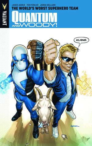 QUANTUM AND WOODY TP VOL 01 WORLDS WORST SUPERHERO TEAM 1