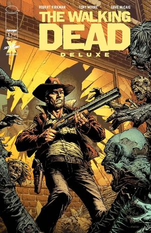 WALKING DEAD DELUXE CVR A FINCH AND MCCAIG 1