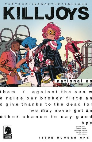 TRUE LIVES FABULOUS KILLJOYS NATIONAL ANTHEM (2020 #1