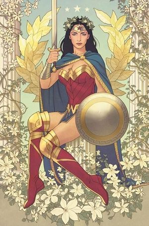 WONDER WOMAN CVR B JOSHUA MIDDLETON CARD STOCK VAR 764