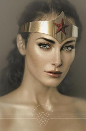 WONDER WOMAN CVR B JOSHUA MIDDLETON CARD STOCK VAR 765