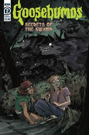 GOOSEBUMPS SECRETS OF THE SWAMP (2020) #2