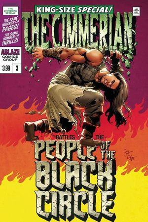 CIMMERIAN PEOPLE OF BLACK CIRCLE (2020) #3D