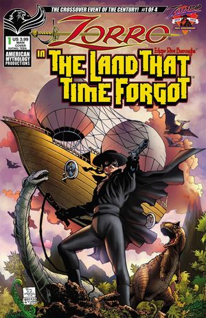 ZORRO IN LAND THAT TIME FORGOT (2020) #1