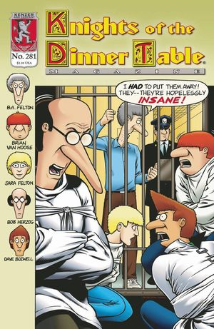 KNIGHTS OF THE DINNER TABLE (1994) #281