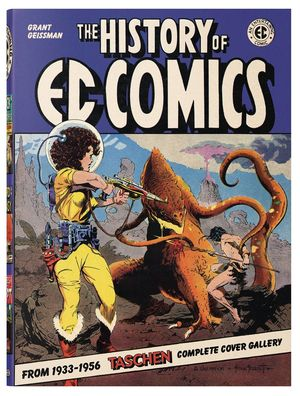 HISTORY OF EC COMICS DELUXE HC