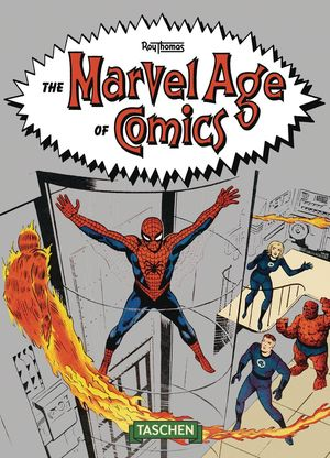 MARVEL AGE OF COMICS 1961-1978 TASCHEN 40TH ANNIV HC