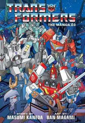 TRANSFORMERS CLASSIC TV MAGAZINE MANGA HC (2020) #3