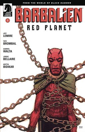 BARBALIEN RED PLANET (2020) #1