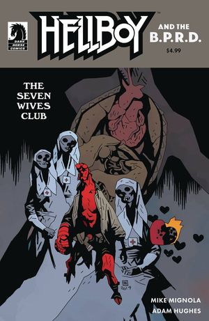HELLBOY AND THE BPRD THE SEVEN WIVES CLUB (2020) #1B
