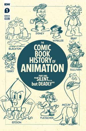 COMIC BOOK HISTORY OF ANIMATION (2020) #1B