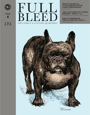 FULL BLEED COMICS AND CULTURE QUARTERLY HC VOL 04 THE END 4