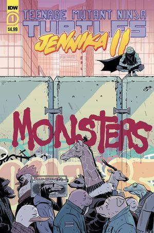 TEENAGE MUTANT NINJA TURTLES JENNIKA II (2020) #1