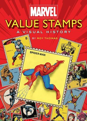 MARVEL VALUE STAMPS VISUAL HISTORY HC
