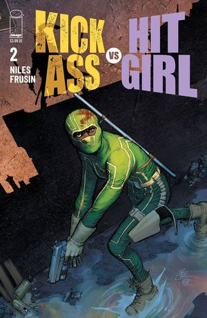 KICK-ASS VS HIT-GIRL CVR A ROMITA JR 2