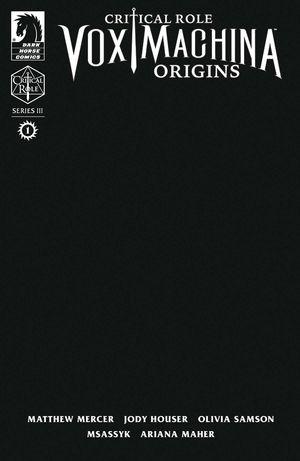CRITICAL ROLE VOX MACHINA ORIGINS III (2021) #1