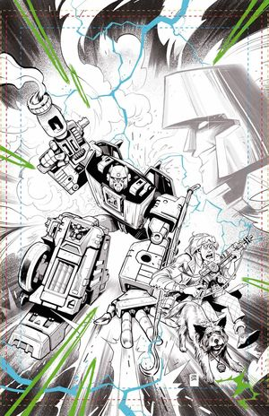 TRANSFORMERS BACK TO FUTURE (2020) #3