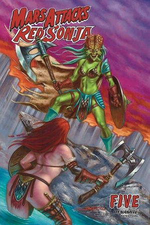 MARS ATTACKS RED SONJA (2020) #5B
